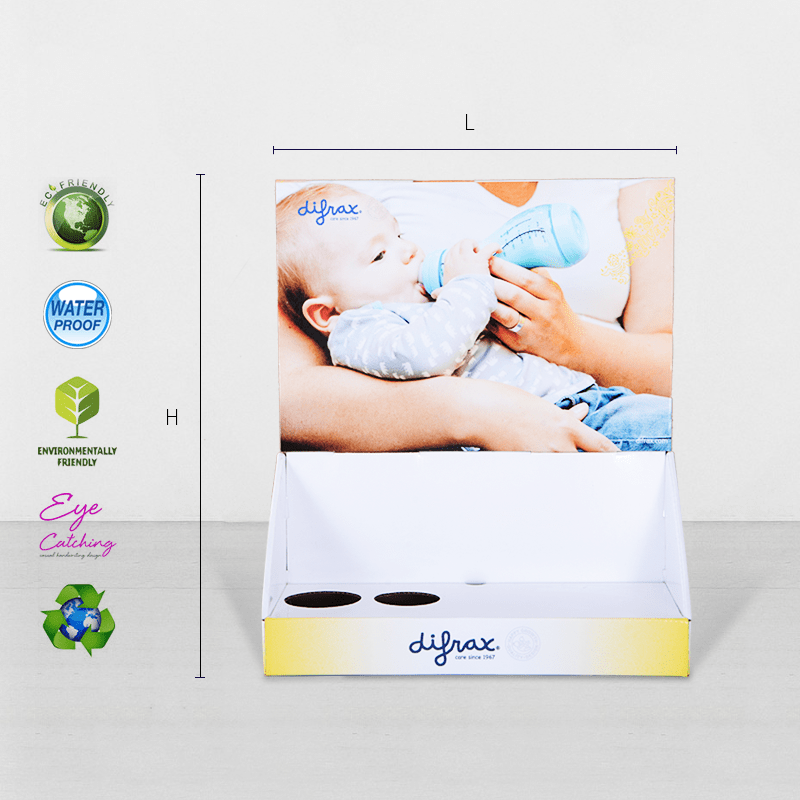 CAI YI JIE promotional custom cardboard display boxes factory price for stores-2