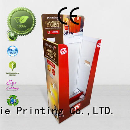 sale cardboard parts bins printing corrugated display CAI YI JIE