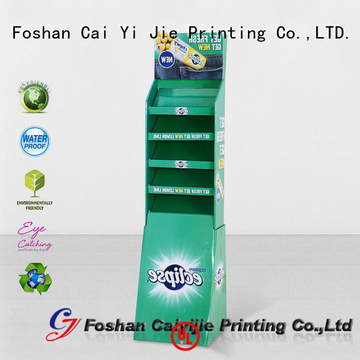 CAI YI JIE Brand floor point product cardboard stand
