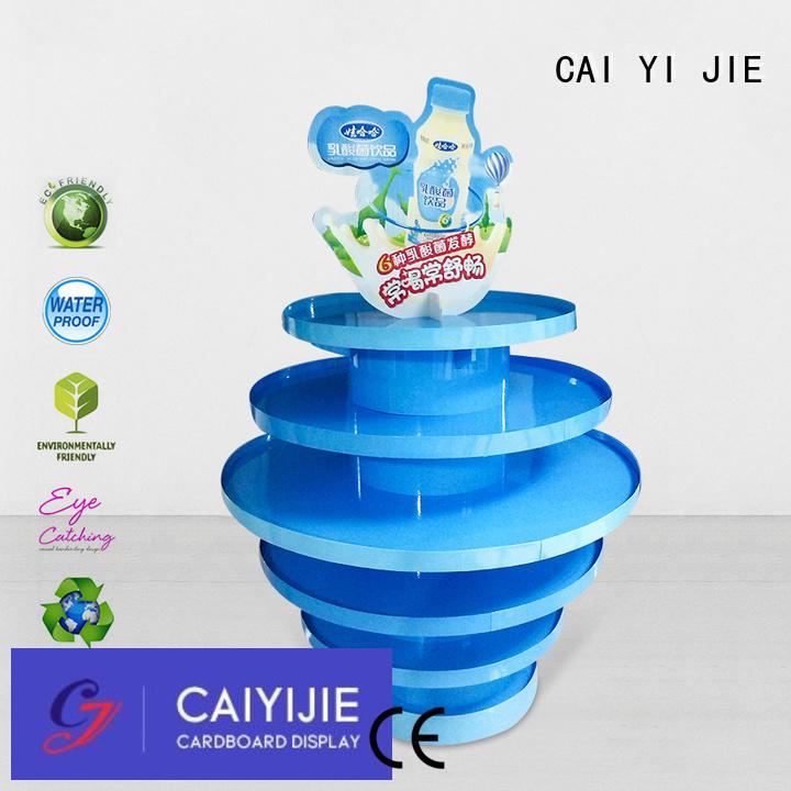 corrugated cardboard pallets carton for chain store CAI YI JIE