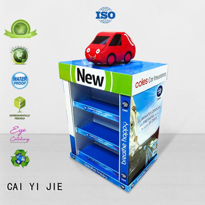 Quality CAI YI JIE Brand corrugated pallet display