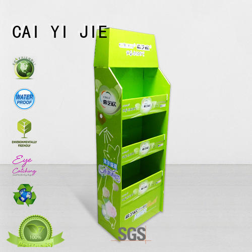CAI YI JIE Brand install carton cardboard pallet display product