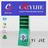fashion Custom plastic clip cardboard stand CAI YI JIE displays