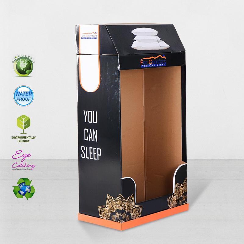 Super Large Space Cardboard Retail Display Stands