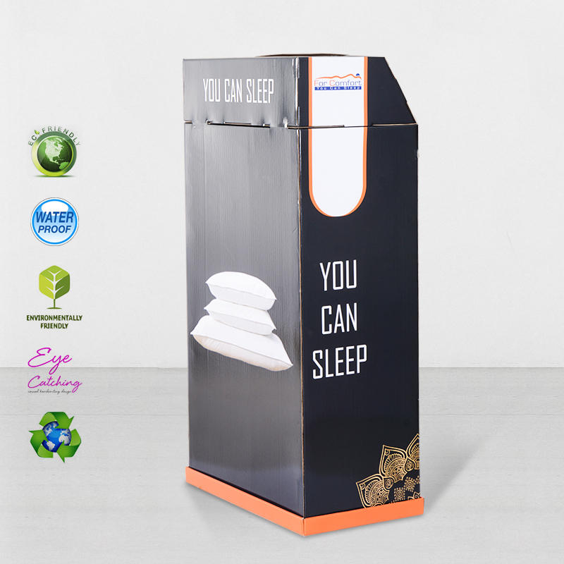 Super Large Space Cardboard Retail Display Stands