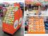 Quality CAI YI JIE Brand cardboard greeting card display stand sale