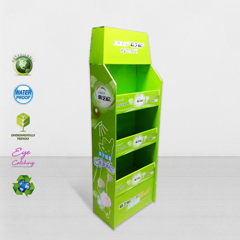 CAI YI JIE Cardboard Pos Display Stands For Promoting Sales Cardboard Pallet Display image38