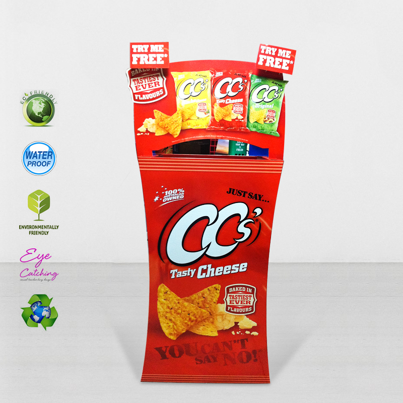 CAI YI JIE Easy Set Up Cardboard Merchandising Displays For Cheese Cardboard Dumpbins image35