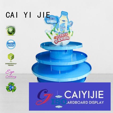 cardboard pallet display pallet plastic easy CAI YI JIE Brand pallet display