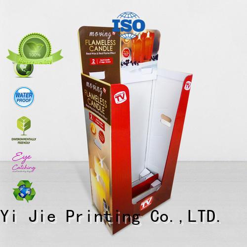 header dumpbin floor standing for retail product CAI YI JIE