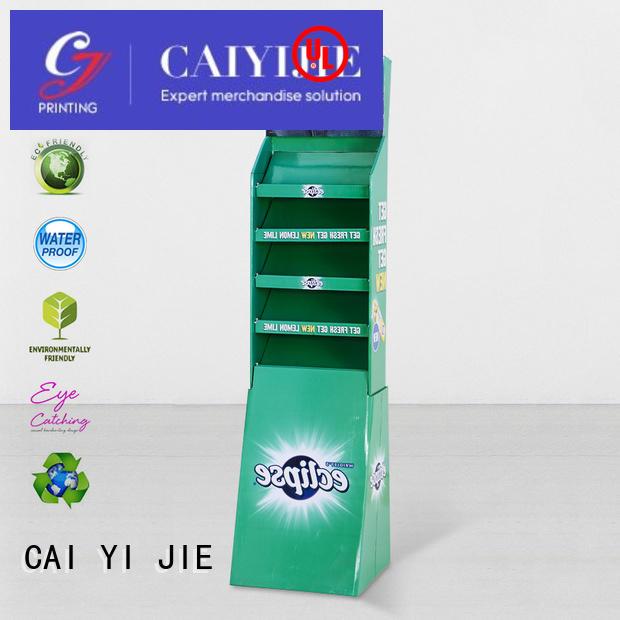 cardboard printing cardboard stand tube CAI YI JIE company