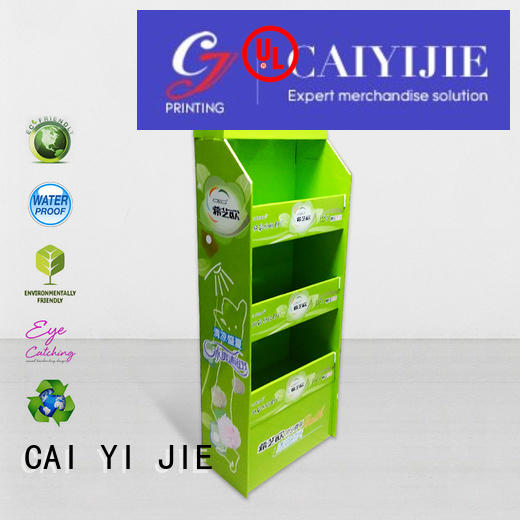 CAI YI JIE promotional cardboard pallet boxes with lids for stores