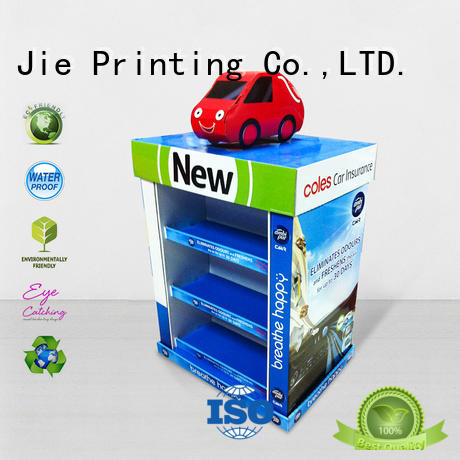 cardboard pos pallet display stores CAI YI JIE Brand