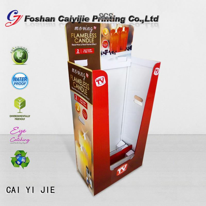 CAI YI JIE cardboard dump bins dumpbin