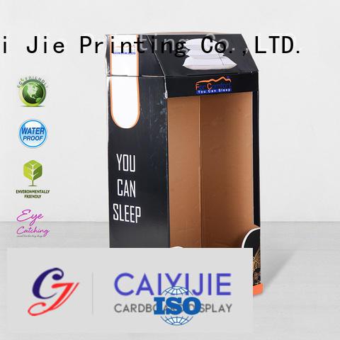 CAI YI JIE Brand super cardboard stores cardboard stand