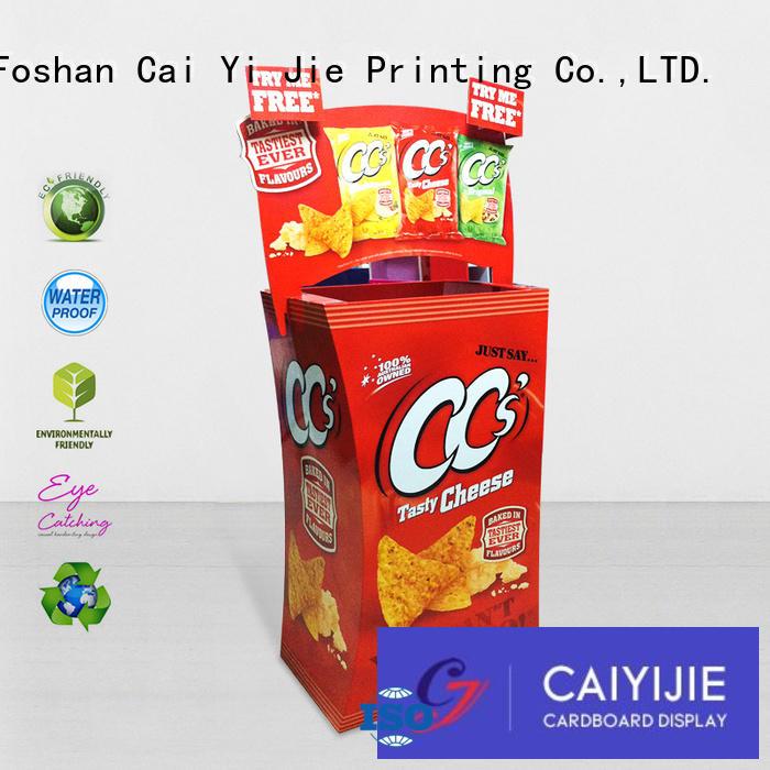 header cardboard bins printing corrugated display