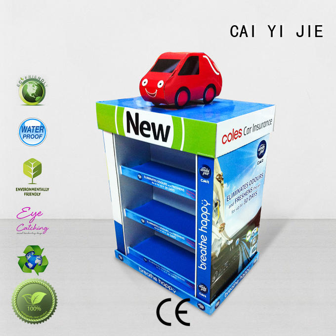 promotional pallet display paper stand for chain store