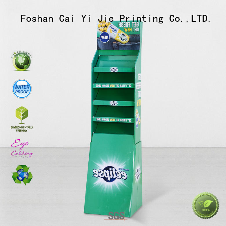 clip point of sale display lamp for supermarket CAI YI JIE
