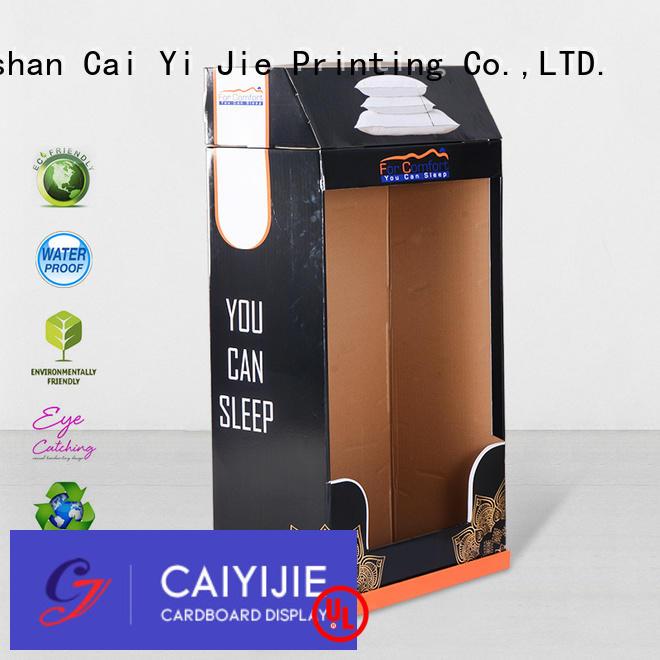 cardboard greeting card display stand retail fashion cardboard stand