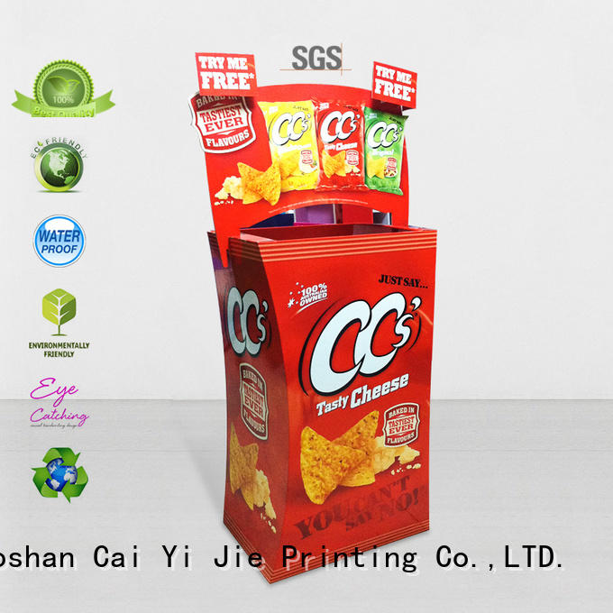 cardboard dumpbin easy dumpbin CAI YI JIE