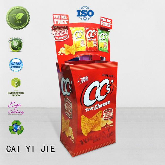 daily cardboard dump bins dumpbin for commodities CAI YI JIE