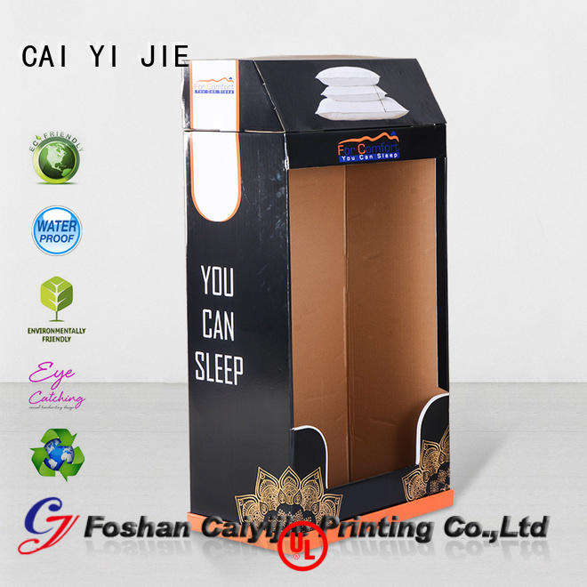 CAI YI JIE special cardboard poster stand point for milk
