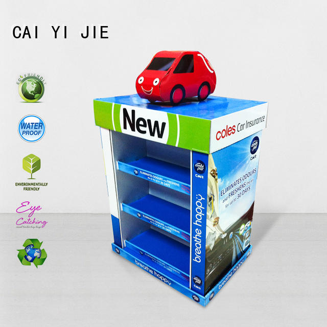 carton cardboard pallet display pallet stands for shop CAI YI JIE