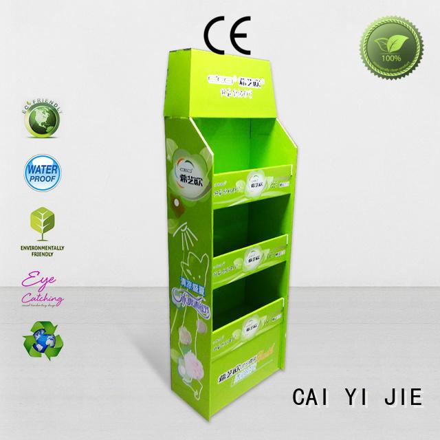 CAI YI JIE fsdu pallet cardboard retail for shop