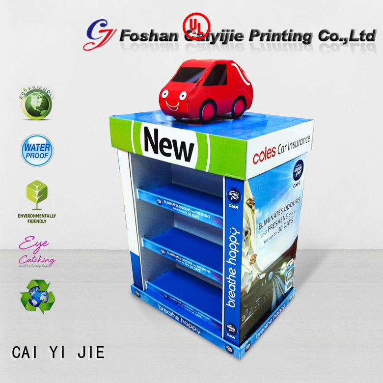 easy cardboard pallet display display CAI YI JIE company