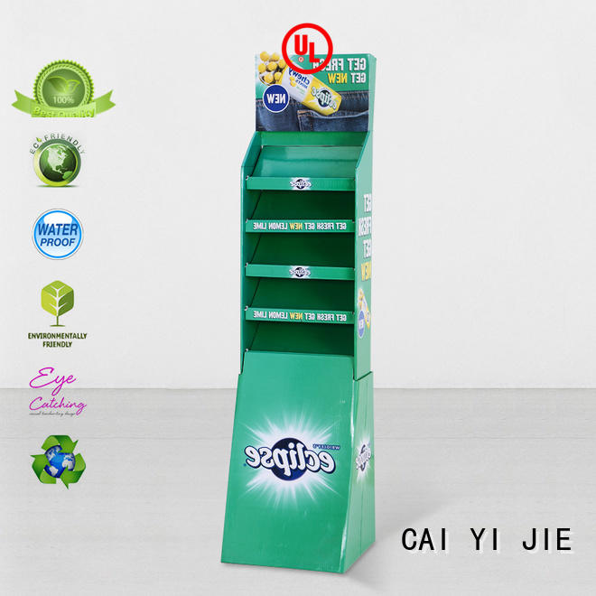 stand display displays cardboard greeting card display stand CAI YI JIE Brand