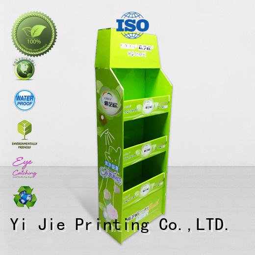 CAI YI JIE advertising pallet cardboard pos for stores