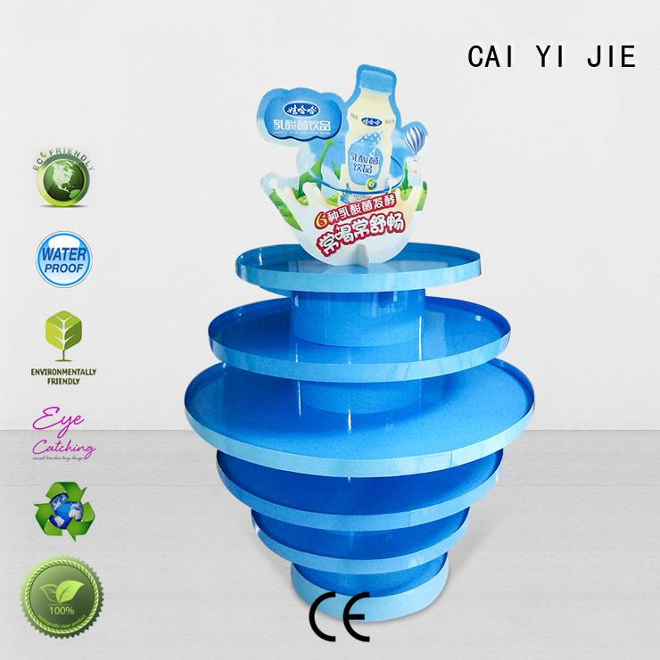 Quality CAI YI JIE Brand cardboard pallet display retail