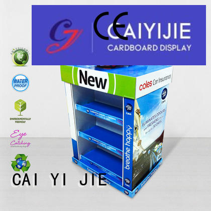 Hot stores pallet display racks carton CAI YI JIE Brand