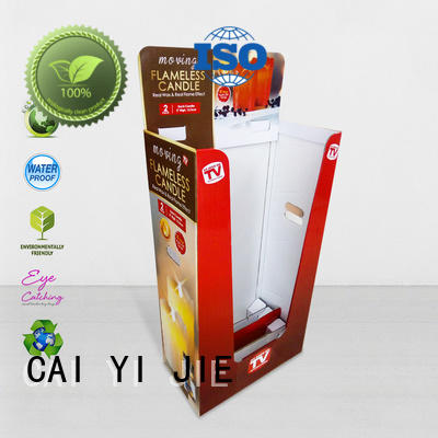 CAI YI JIE high-end cheap dump bins floor standing for merchandising