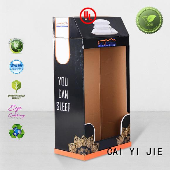 stand step cardboard stand plastic CAI YI JIE Brand company
