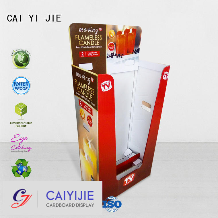 Quality cardboard dump bins for retail CAI YI JIE Brand removable dumpbin