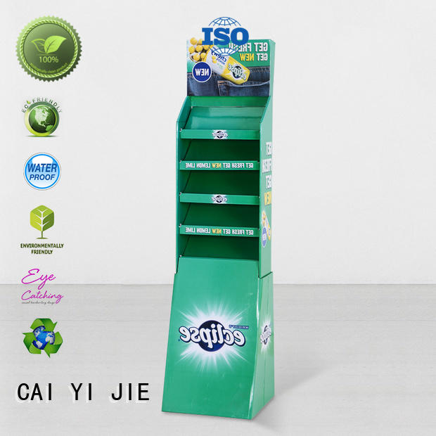 promotional stand displays cardboard stand CAI YI JIE