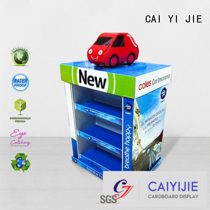 CAI YI JIE Brand clip carton install cardboard pallet display