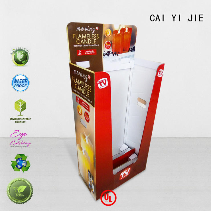 CAI YI JIE cardboard dump bins dumpbin for commodities