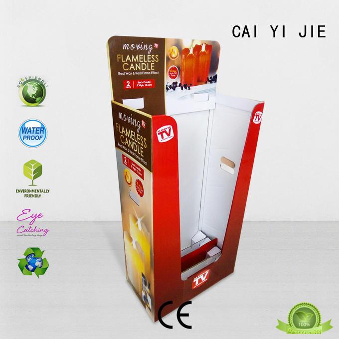 header promotional dump bins header for merchandising CAI YI JIE