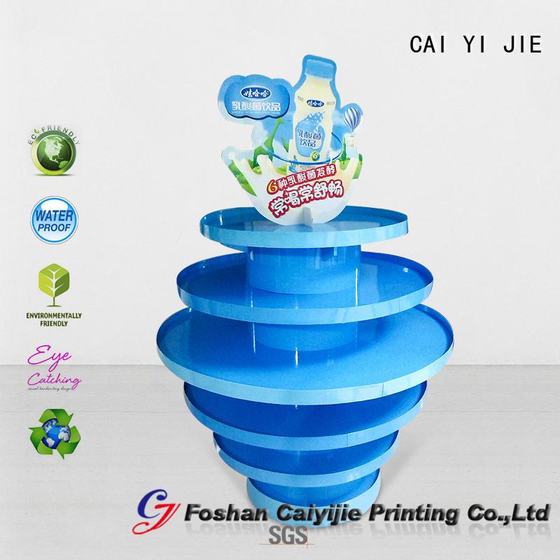 CAI YI JIE pallet cardboard cardboard display for stores
