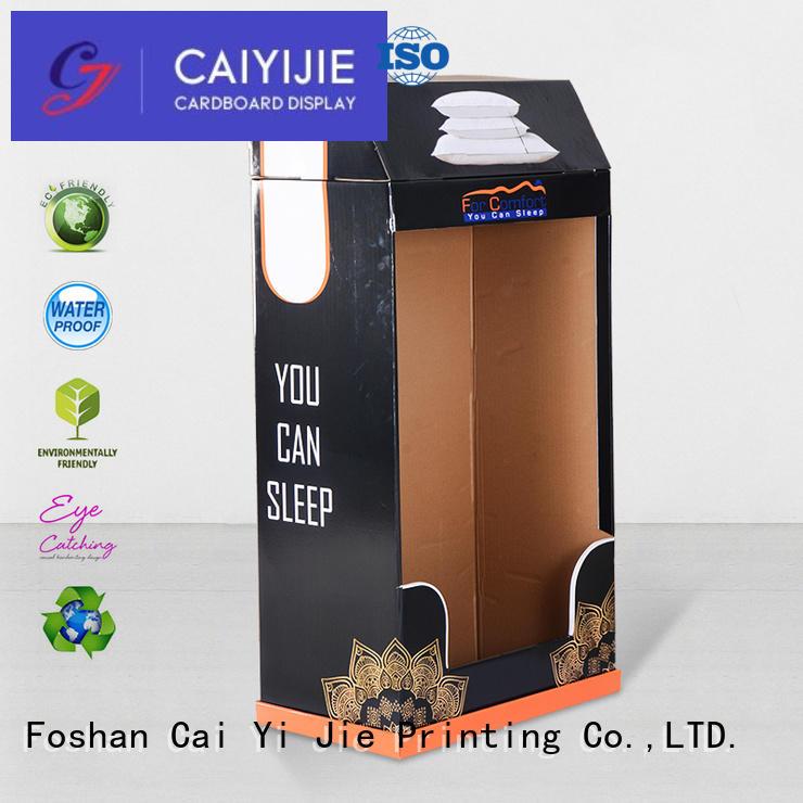 cardboard greeting card display stand stiand chain products Warranty CAI YI JIE
