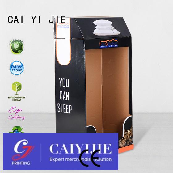 cardboard greeting card display stand super uv Warranty CAI YI JIE