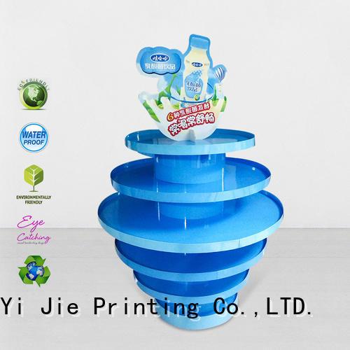 cardboard display rack for stores CAI YI JIE