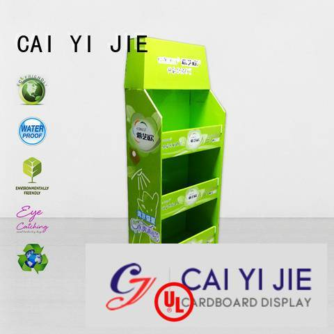 CAI YI JIE cardboard pallet display square plastic stores pallet