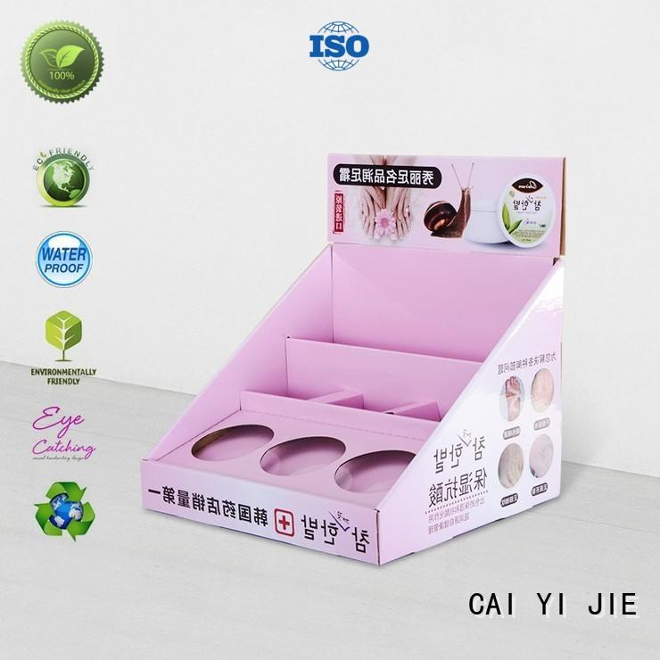 CAI YI JIE grocery small cardboard display boxes for supermarkets
