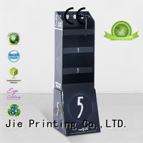 CAI YI JIE cardboard business card display holders hook stands for phone accessories