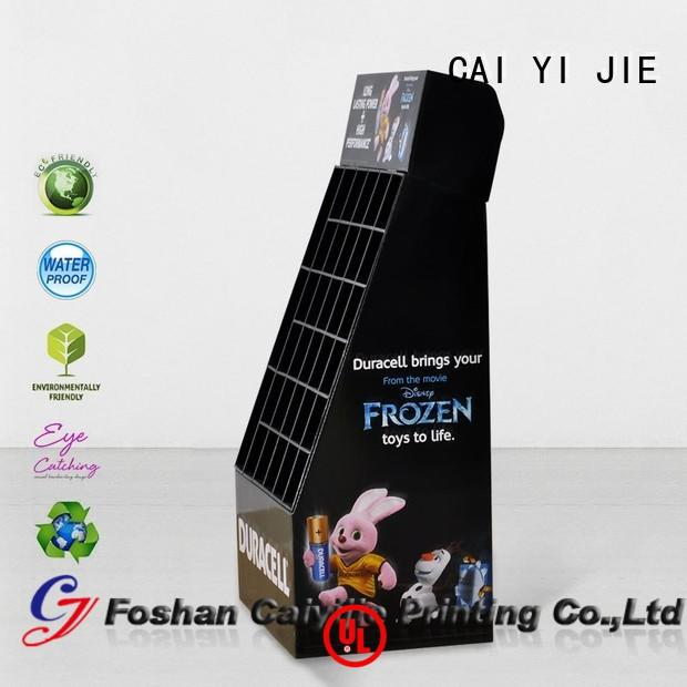 cardboard greeting card display stand corrugated products cardboard stand point company