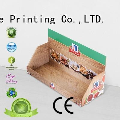 pos display box OEM for stores CAI YI JIE