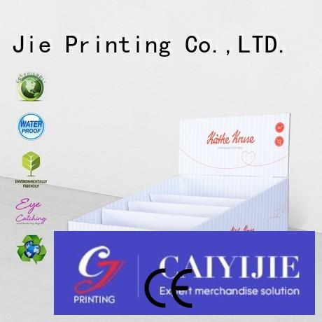 CAI YI JIE promotional small cardboard boxes stands boxes for stores